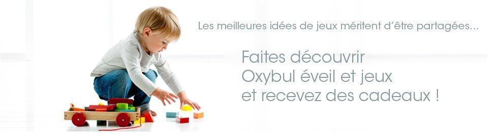 profitez de 10€ sur votre première commande Oxybul éveil et jeux