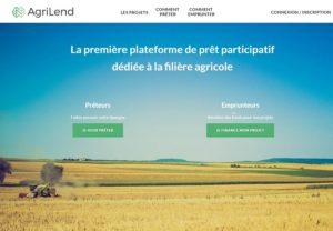 AgriLend : le financement participatif à destination du monde agricole