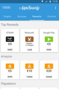 Applications rémunératrices : AppBounty