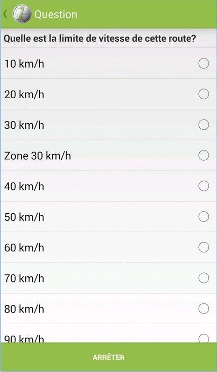 AppJobber - Exemple de questionnaire
