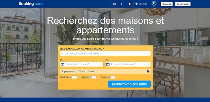 Booking.com : un des acteurs de la location entre particuliers