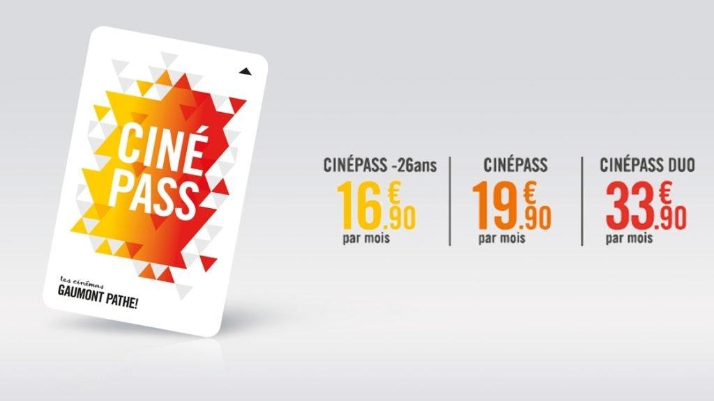 Tarifs CinéPass Cinémas Pathé Gaumont