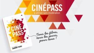 CinéPass Pathé Gaumont : 50 % de réduction sur les frais de dossier
