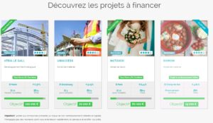 Finsquare : exemple de projets à financer