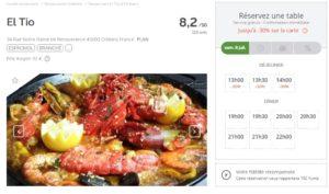 LaFourchette : Réserver moins cher