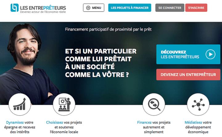 Les Entreprêteurs : les financement participatif à destination des particuliers