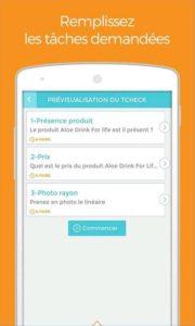 gagner de l'argent avec l'application smartphone tcheck it
