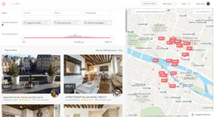 Exemple d'utilisation d'Airbnb