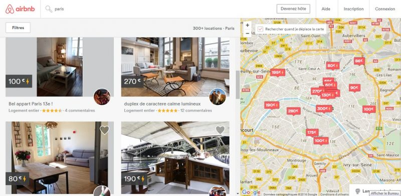 Airbnb : leader de la location entre particuliers