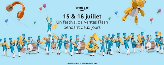Les amazon prime days, l'occasion de profiter de milliers de ventes flash