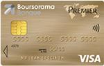 La carte Visa Premier chez Boursorama