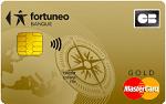 La carte Mastercard Gold de chez Fortuneo