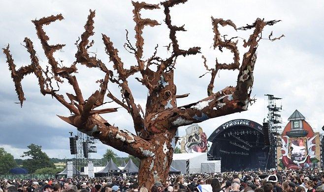 L'arbre du hellfest