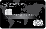 La carte Mastercard world elite de Fortuneo