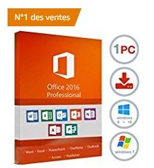 Réduction pour microsoft office 2016 pro plus