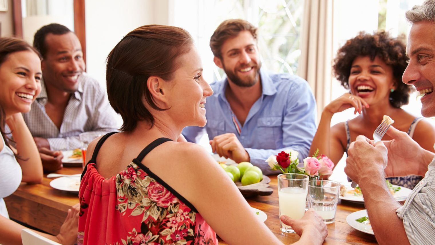 Repas entre amis les bons plans du net for Menu du soir entre amis