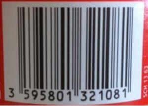 code barre shweppes agrumes zero